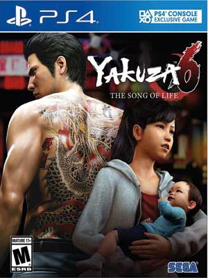 Yakuza 6 install game itecnoshop