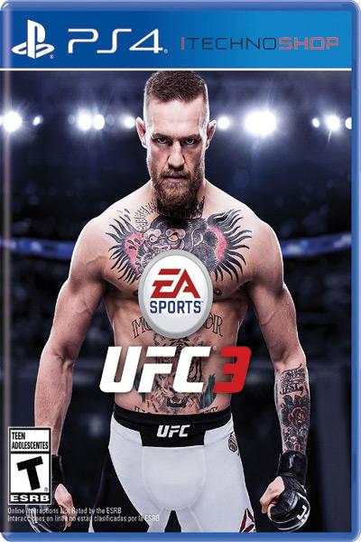 UFC3 ps4 sale itecnoshop