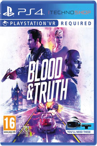 VR blood & Truth ps4 sale itecnoshop
