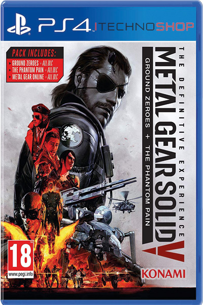metal gear solid v definitive ps4 sale itecnoshop