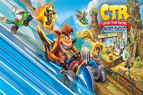 crash team racing ps4 game rent itecnoshop