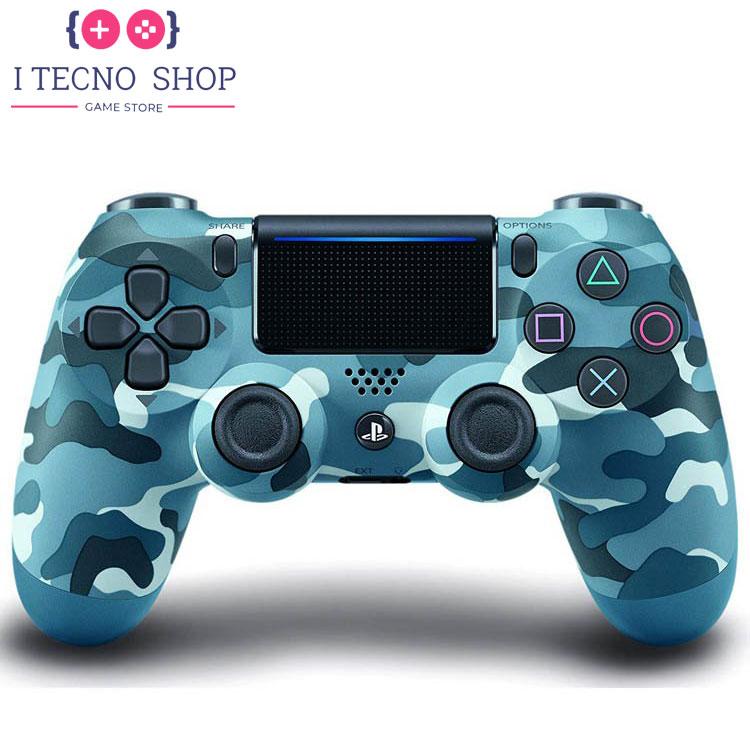 خرید DualShock 4(دسته بازی پلی استیشن 4) طرح Blue Camo