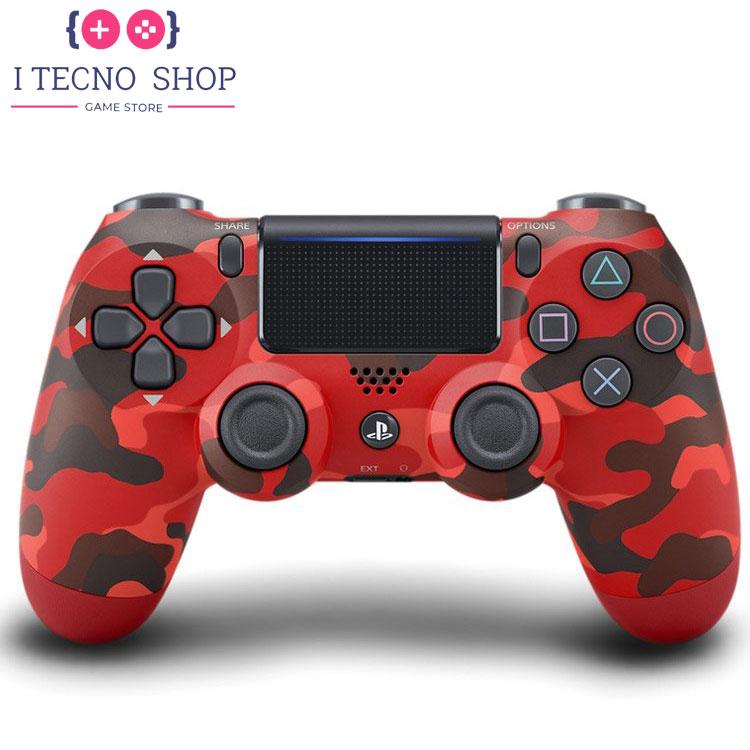 خرید DualShock 4(کنترلر کنسول ps4) طرح قرمز ارتشی سری جدید