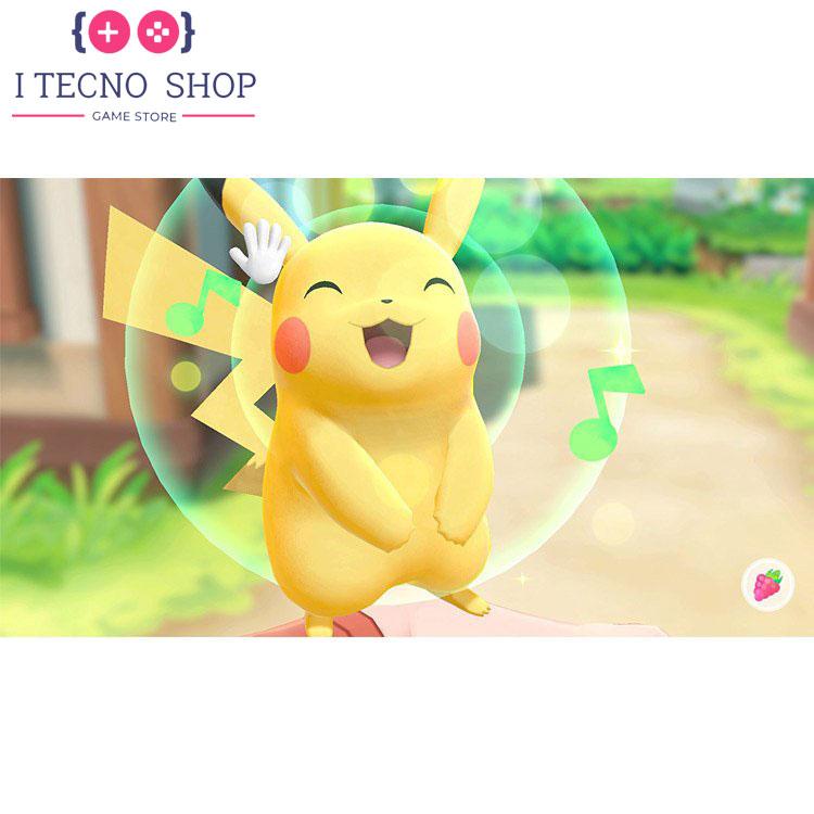 Nintendo Switch Pikachu Eevee Edition with Pokemon Let's Go Pikachu! Poke Ball Plus 3 itecnoshop