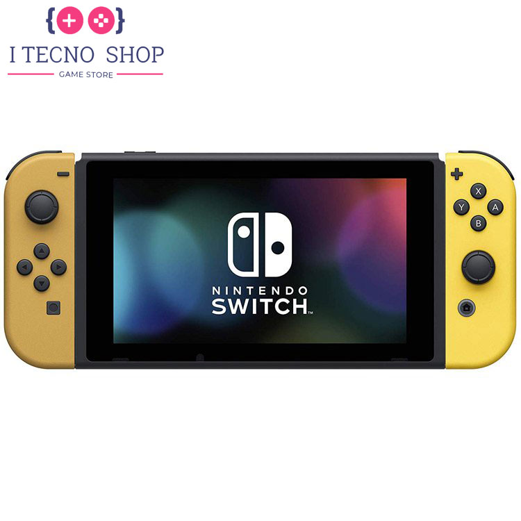 Nintendo Switch Pikachu Eevee Edition with Pokemon Let's Go Pikachu! Poke Ball Plus 6 itecnoshop