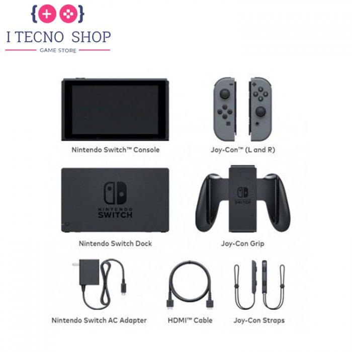 Nintendo Switch with Grey Joy Con HAC 001(-01) 2 itecnoshop