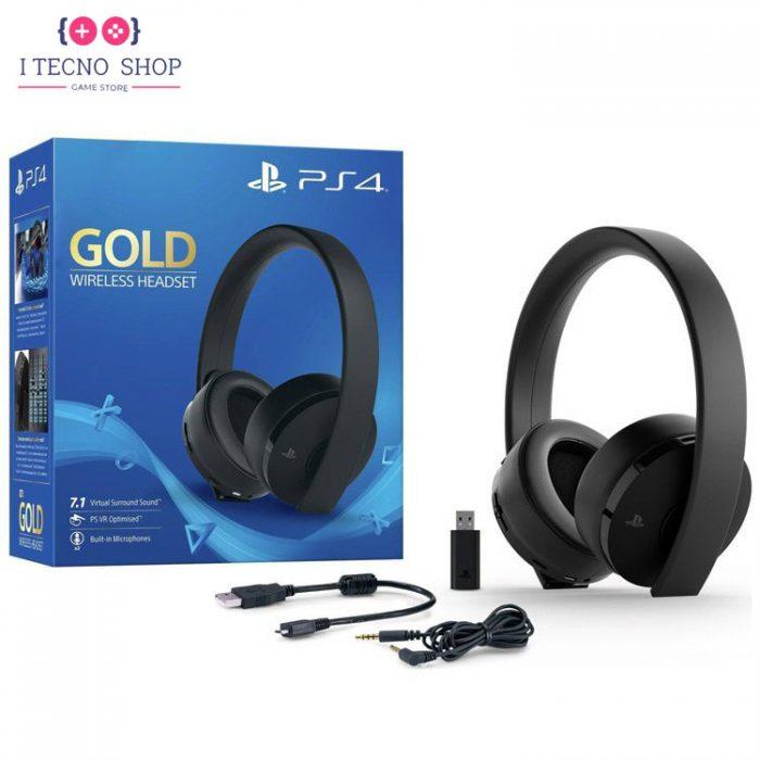 خرید هدست Gold کنسول PS4 - سری جدید 1