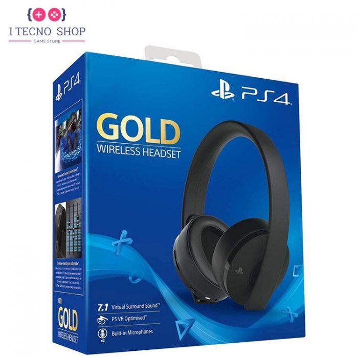 خرید هدست Gold کنسول PS4 - سری جدید