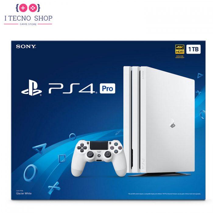 PlayStation 4 Pro 1TB White Glacier 1 R2 CHU7216B itecnoshop