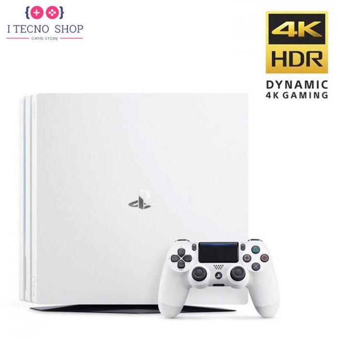 PlayStation4 Pro 1TB White Glacier R2 CHU7216B itecnoshop