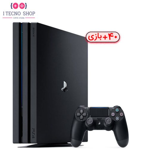 Playstation 4 Pro 2TB with 40 Games R3 CUH 7218C itecnoshop