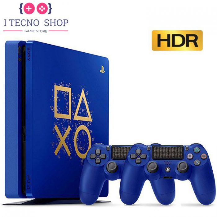 Playstation 4 Slim 500GB Days of Play Limited Edition With Two DualShock 4 R2 CUH 2116A 2 itecnoshop