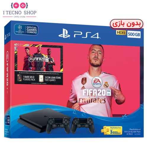 Playstation 4 Slim 500GB FIFA20 Without Game R2 CUH 2216A 1 itecnoshop
