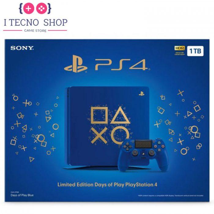 Playstation 4Slim 1TB Days of Play Limited Edition R1 2 CUH 2115B