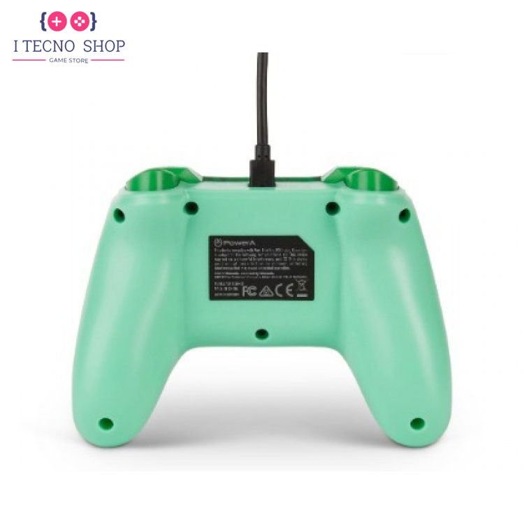 خرید کنترلر سیمی نینتندو سوییچ - طرح Green Bulbasaur 3