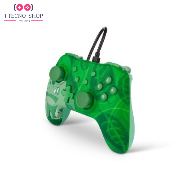 خرید کنترلر سیمی نینتندو سوییچ - طرح Green Bulbasaur 4