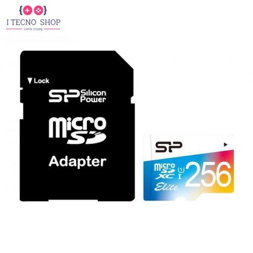 خرید کارت میکرو SD مدل Silicon Power class 10 Elite | ظرفیت 64 گیگابایت