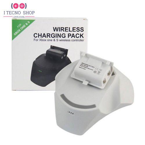 خرید پک استند شارژ بی سیم و باتری کنترلر ایکس باکس وان |سفید