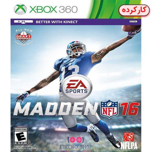 خرید بازی Madden NFL 16 - کارکرده
