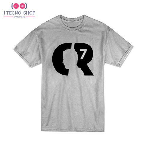 خرید تیشرت CR7   خاکستری