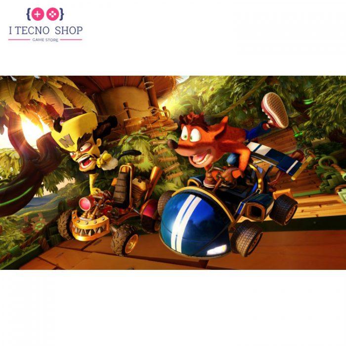 خرید بازی Crash Team Racing Nitro-Fueled و بازی Crash Bandicoot N.Sane Trilogy برای PS4 5