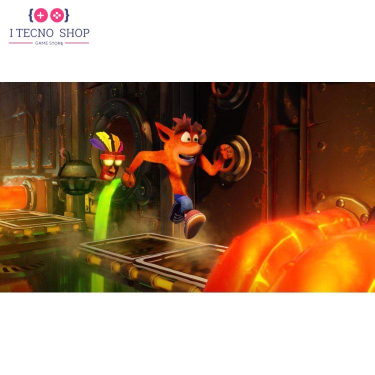 خرید بازی Crash Team Racing Nitro-Fueled و بازی Crash Bandicoot N.Sane Trilogy برای PS4 4