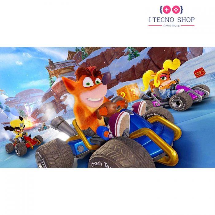 خرید بازی Crash Team Racing Nitro-Fueled- Nintendo Switch Game