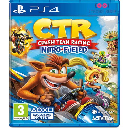 خرید بازی Crash Team Racing Nitro-Fueled - نسخه PS4