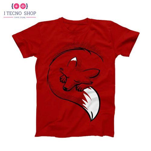 خرید تیشرت روباه - قرمز