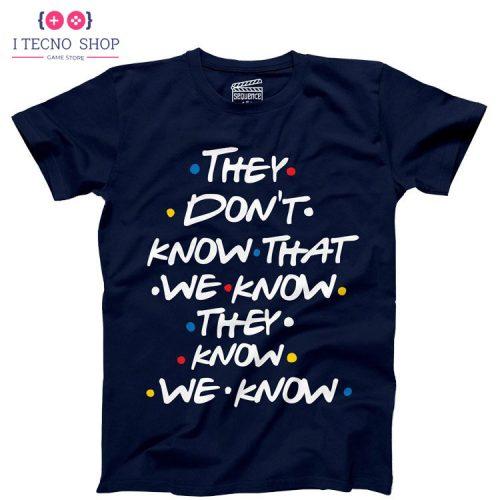خرید تیشرت Friends - سرمهای رنگ