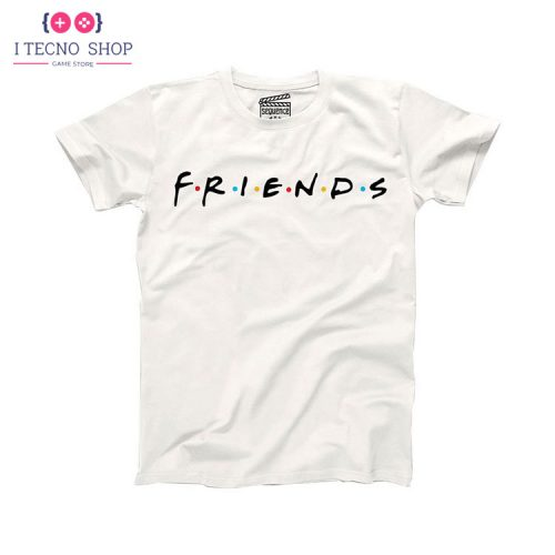 خرید تیشرت سریال Friends - سفید