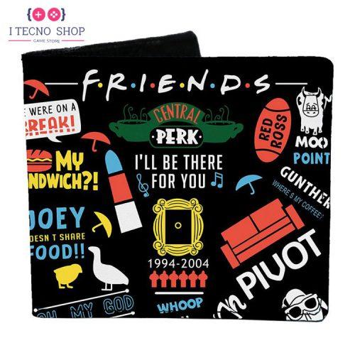خرید کیف پول - با طرح سریال Friends