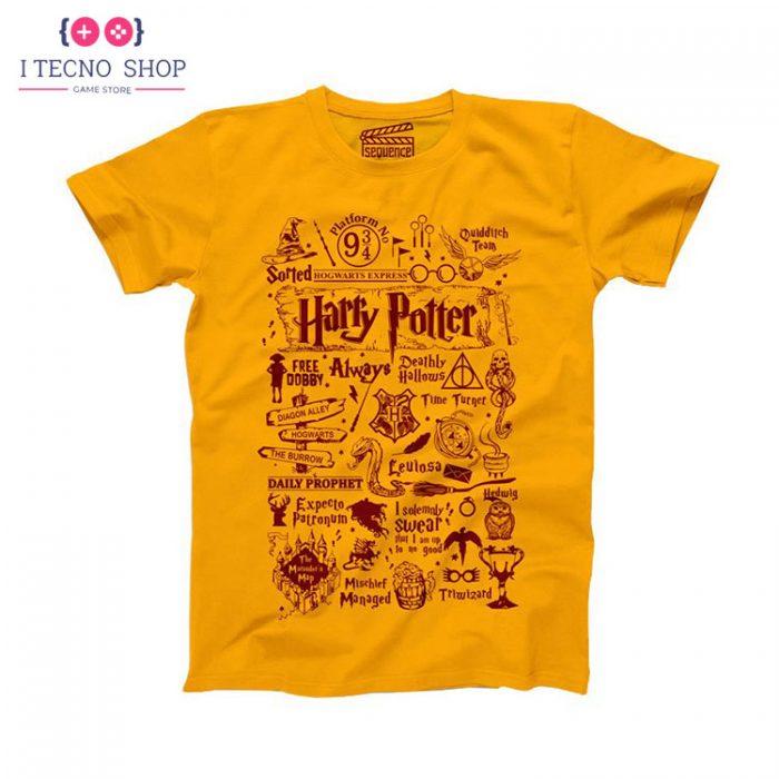 خرید تیشرت Harry Potter - زرد رنگ