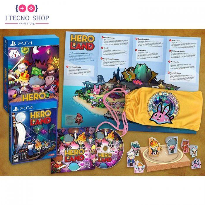 خرید بازی Heroland نسخه Knowble Edition برای PS44