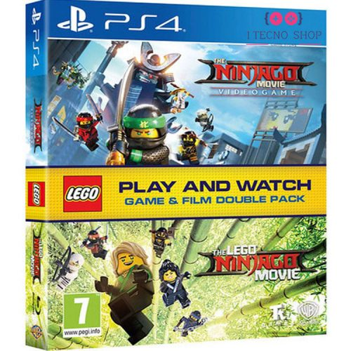 خرید بازی Lego The Ninjago Movie Videogame + فیلم Lego The Ninjago Movie - نسخه PS4