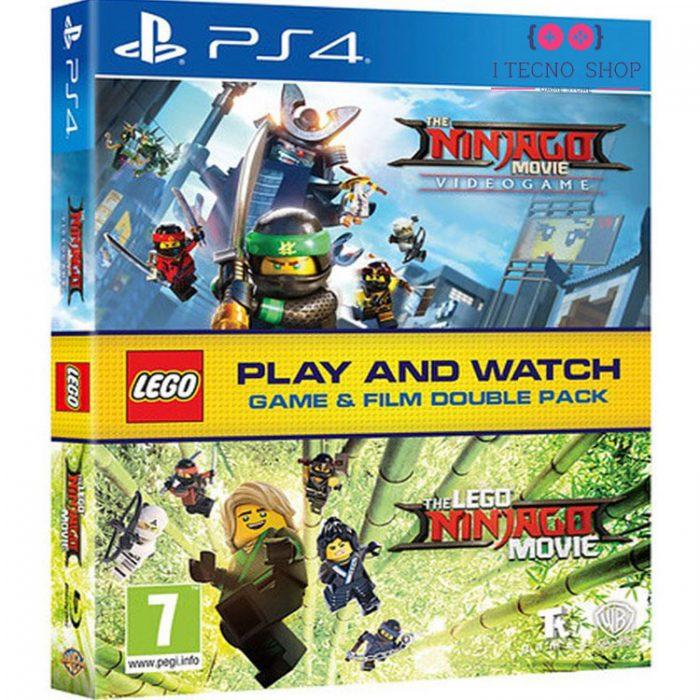 خرید بازی Lego The Ninjago Movie Videogame + فیلم Lego The Ninjago Movie - نسخه PS4