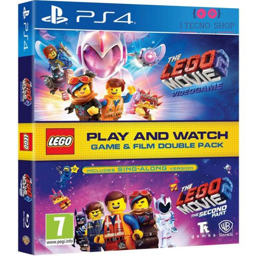 خرید بازی The Lego Movie 2 Video Game +‌ فیلم The Lego Movie 2: The Second Part - نسخه PS4