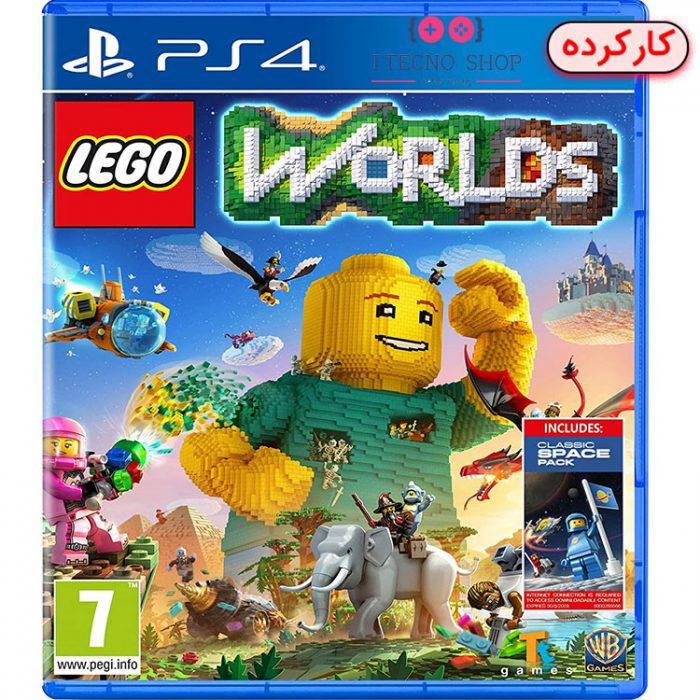 خرید بازی Lego Worlds   نسخه پلیاستیشن 4