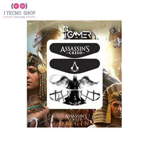 خرید برچسب لایت بار کنترلر PS4- طرح بازی Assassin's Creed Origins