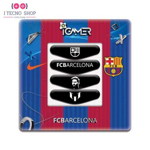 خرید برچسب لایت بار کنترلر PS4- طرح بارسلونا