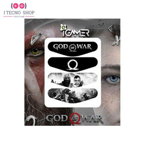 خرید برچسب لایت بار کنترلر PS4- طرح بازی God of War