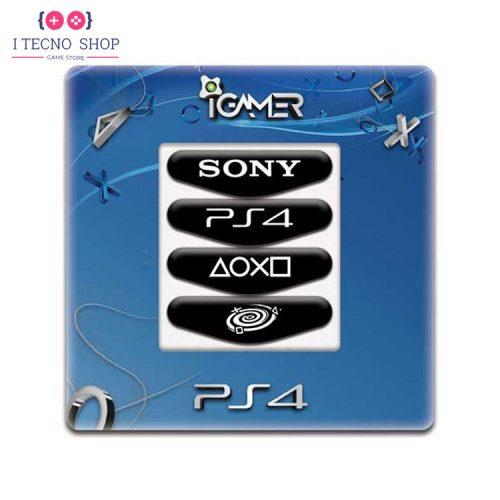 خرید برچسب لایت بار کنترلر PS4- طرح PS4