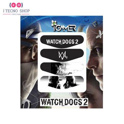 خرید برچسب لایت بار کنترلر PS4- طرح بازی Watch Dogs