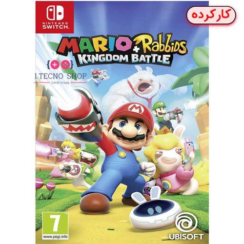 خرید بازی Mario + Rabbids Kingdom Battle - نینتندو سوییچ - کارکرده