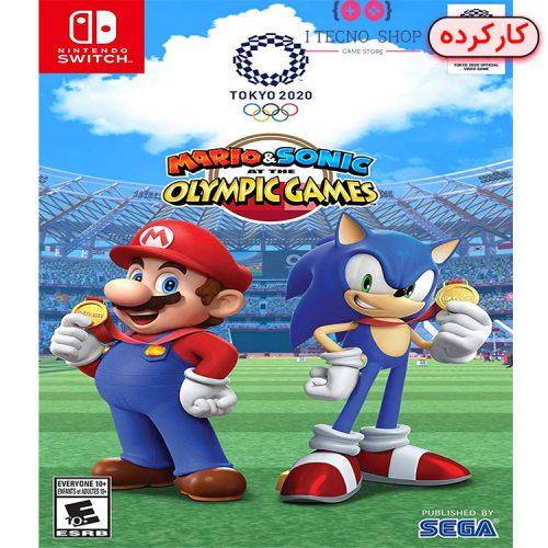 خرید بازی Mario & Sonic at Olympic Games Tokyo 2020 - انحصاری نینتندو سوییچ - کارکرده