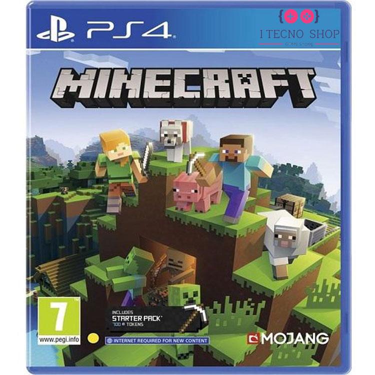 خرید بازی Minecraft Bedrock - نسخه PS4