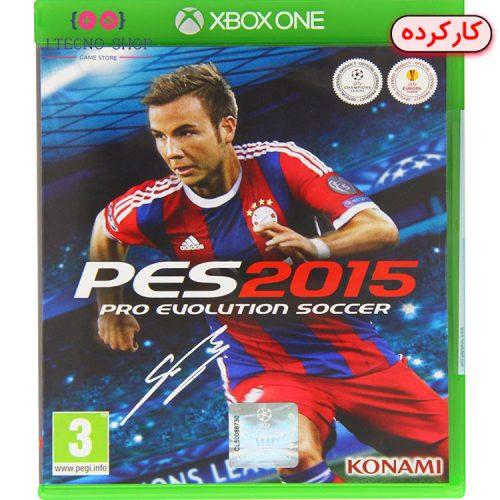 PES 2015 - XBOX ONE کارکرده