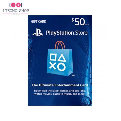 خرید کارت PSN آمریکا | 50 دلاری
