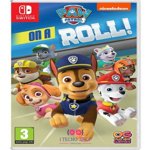 خرید بازی Paw Patrol: On a roll! - نسخه سوییچ