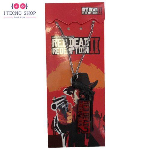خرید آویز با طرح بازی Red Dead Redemption 2 - مدل یک